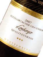Lemberger-Rotwein ist sehr lange haltbar